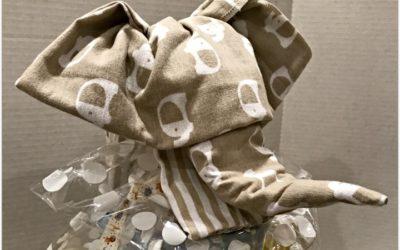 How to Make a Diaper Cake, Elephant Topper