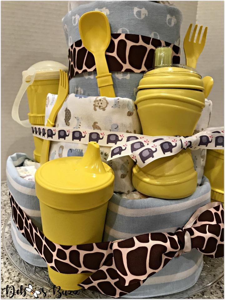 elephant-diaper-cake-replay-baby-feeding