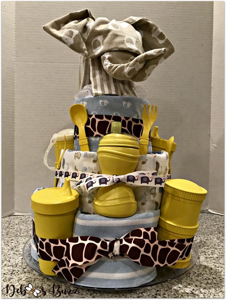 elephant-diaper-cake-stack