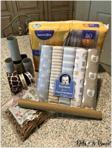 elephant-diaper-cake-supplies