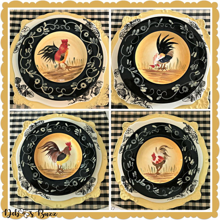 fall-farm-rooster-table-black-plates-collage