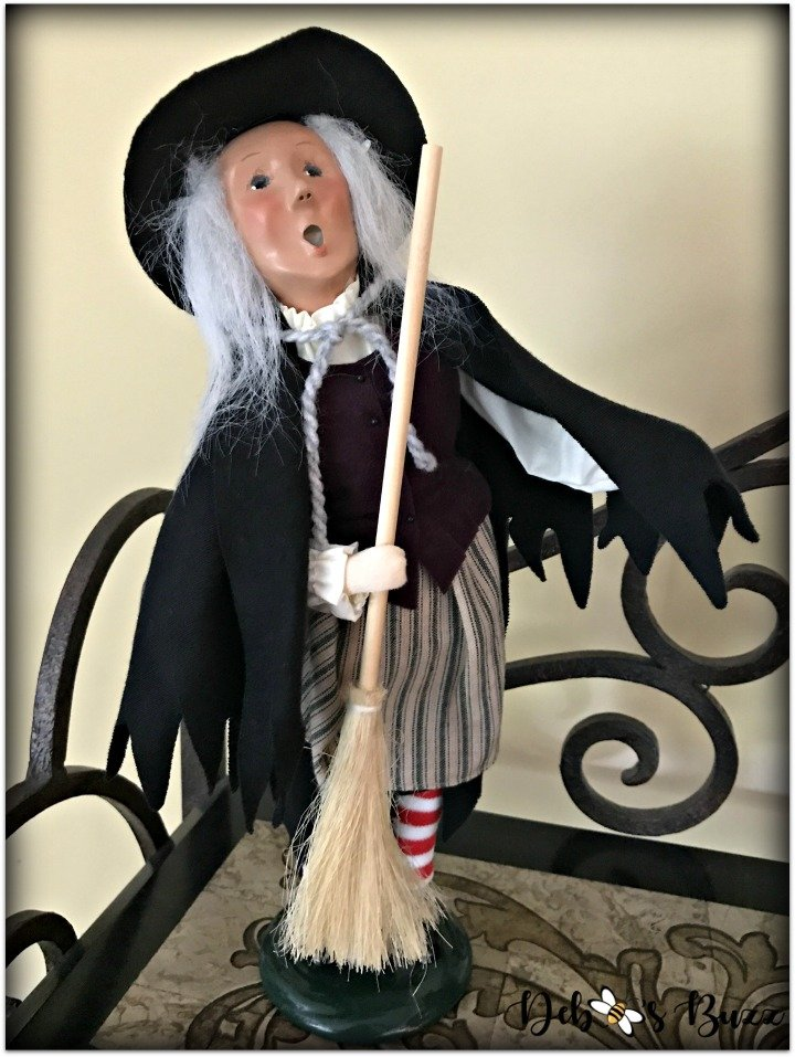 Halloween-decor-home-tour-byers-choice-witch-broom