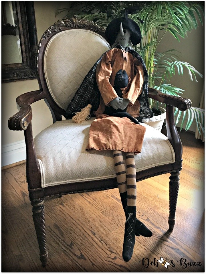 Halloween-decor-home-tour-witch-chair