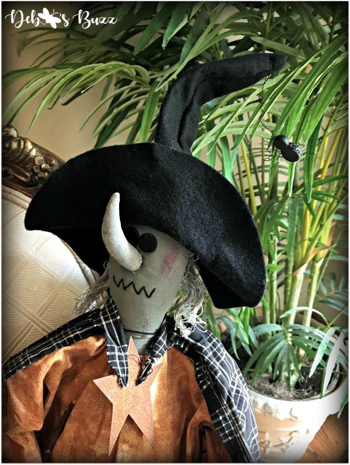 Halloween-home-decor-tour-witch-spider