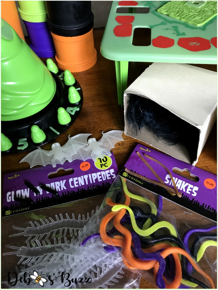 green-ghost-Halloween-game-night-snakes-centipedes