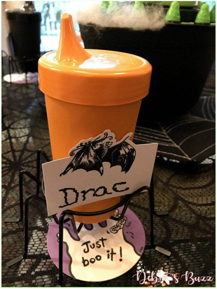 Halloween-green-ghost-game-night-replay-orange-sippy-cup