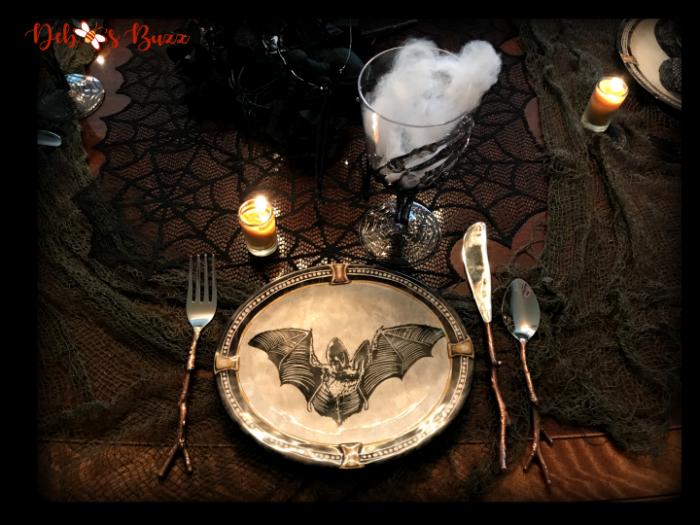 haunted-halloween-hallows-tablescape-bat-plate