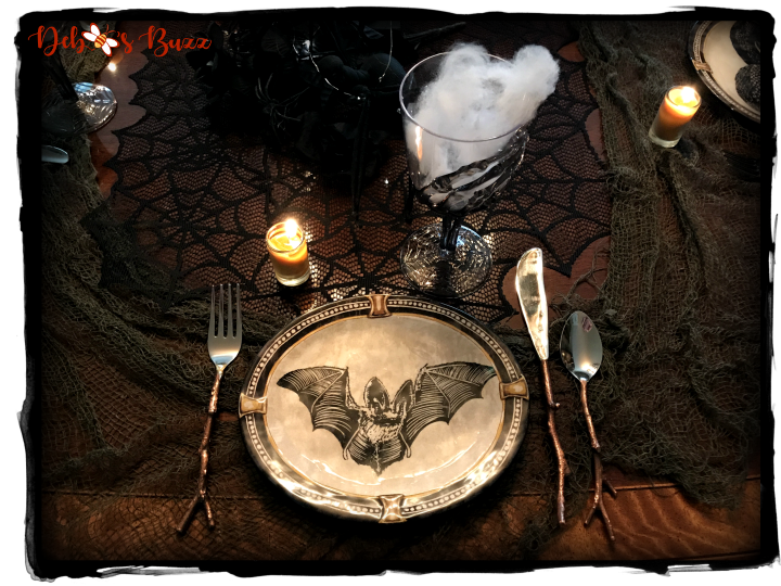 Haunted Halloween Hallows Tablescape
