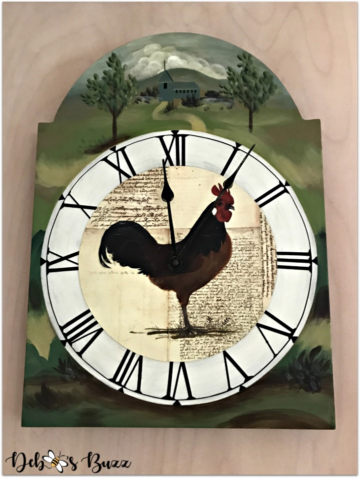 rooster-kitchen-decor-clock