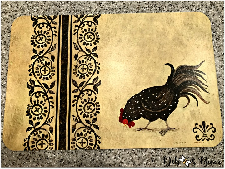 kitchen-rooster-decor-placemat