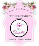 love your creativity link party feature