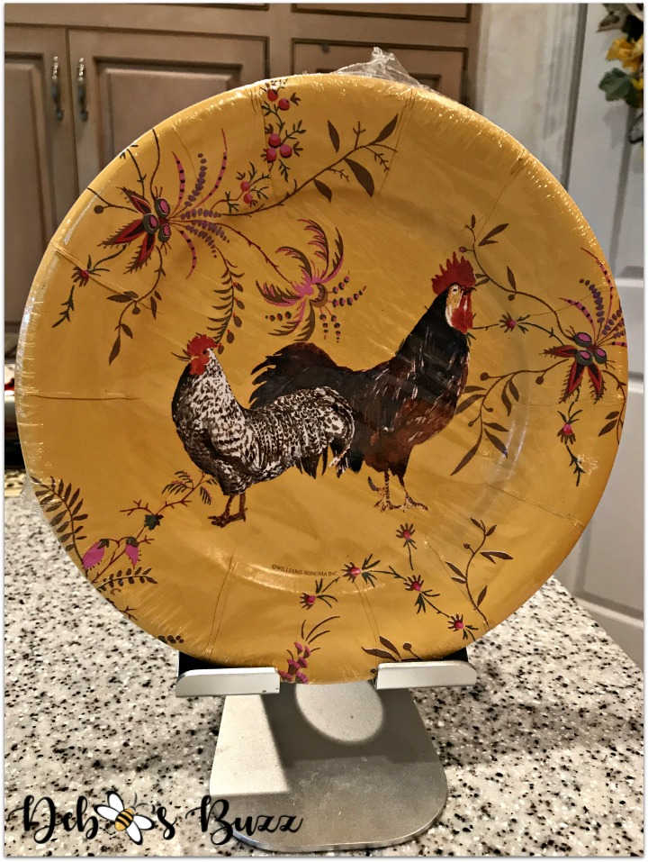 rooster-kitchen-decor-paper-plates