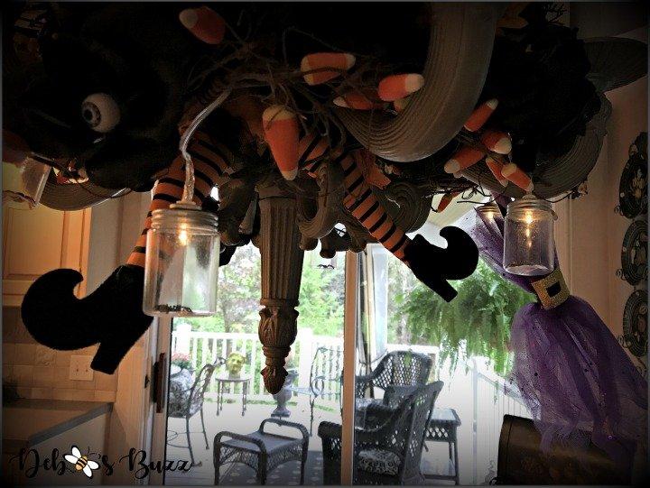 spooky-Halloween-tablescape-chandelier-broom
