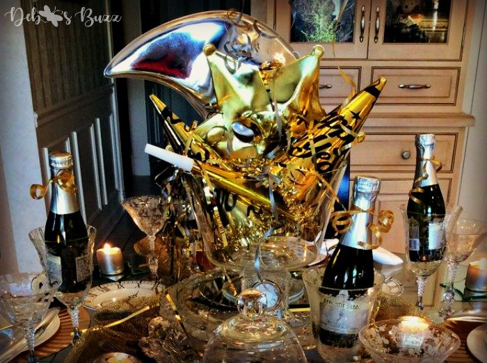 New Years Eve Tablesetting Ideas
