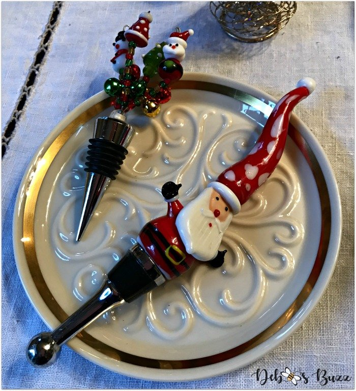 nutcracker-collection-centerpiece-Christmas-table-wine-stoppers