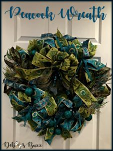 peacock-wreath-Christmas-decoration-pin