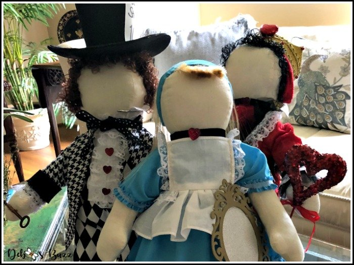 Creating Alice in Wonderland Character Dolls