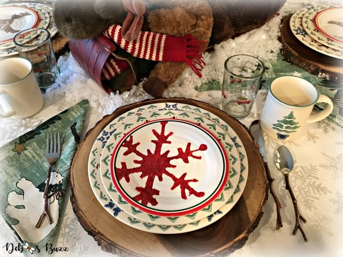 moose-centerpiece-toboggan-ride-tablescape-snowflake-place-setting