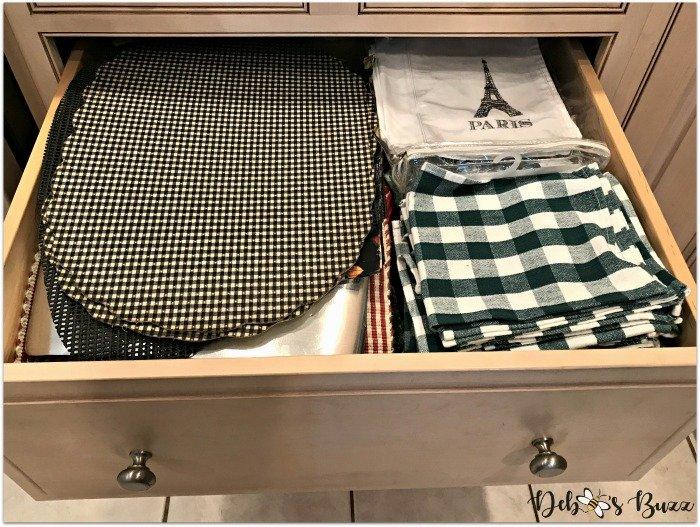 remodeled-kitchen-design-layout-organization-tour-placemat-drawer