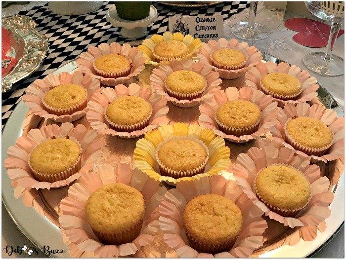 alice-in-wonderland-tea-party-orange-chiffon-cupcakes