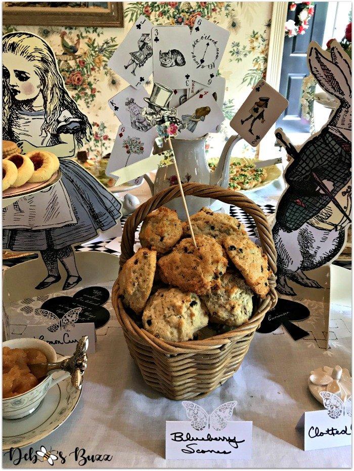 alice-in-wonderland-tea-party-menu-mixed-berry-scone-basket