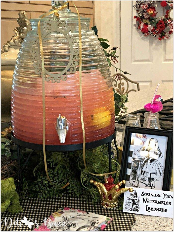 alice-in-wonderland-tea-party-menu-pink-watermelon-lemonade
