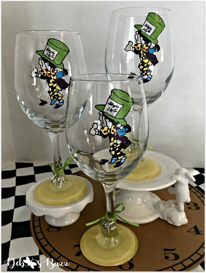 alice-in-wonderland-hand-painted-glasses-mad-hatter-trio