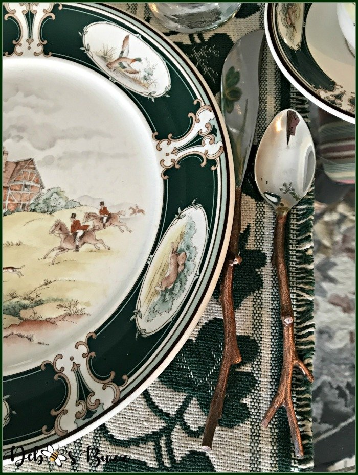 casual-st-patricks-day-table-twig-flatware-Ireland-pursuit-plate