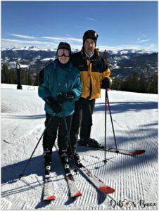 ski-trip-Breckenridge-Colorado-couple-first tracks