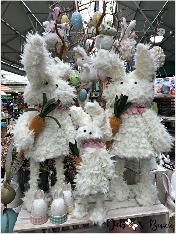 Easter-decor-trax-farm-stuffed-rabbits