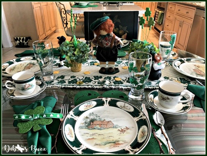 st-patricks-day-table-centerpiece