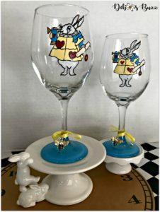 wonderland-hand-painted-glasses-white-rabbit-duo