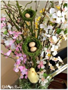 Easter-home-decor-tour-floral-arrangement