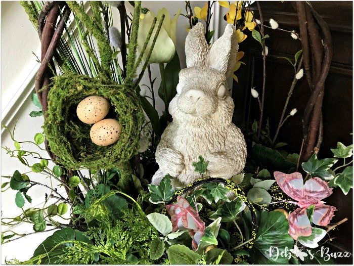 Easter-home-decor-tour-front-hall-basket
