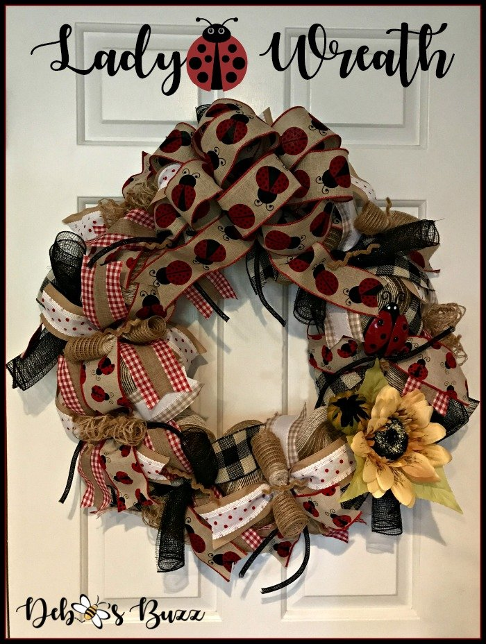 ladybug-mesh-wreath-white-door