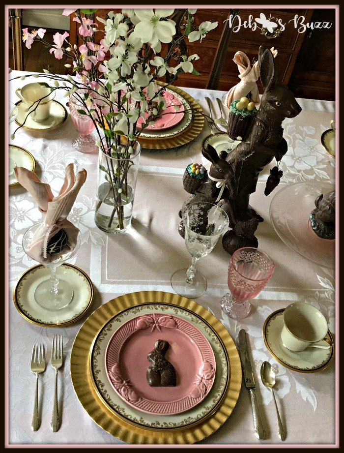 vintage-Easter-table-place-setting-overhead