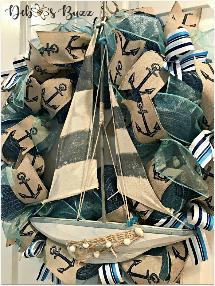 Nautical-sailboat-wreath-angle-Etsy-debbeesbuzzboutique