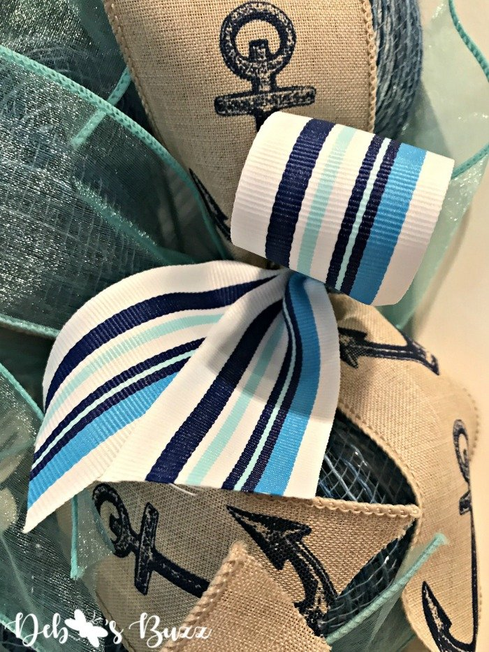 Nautical-sailboat-wreath-stripe-ribbon-Etsy-debbeesbuzzboutique