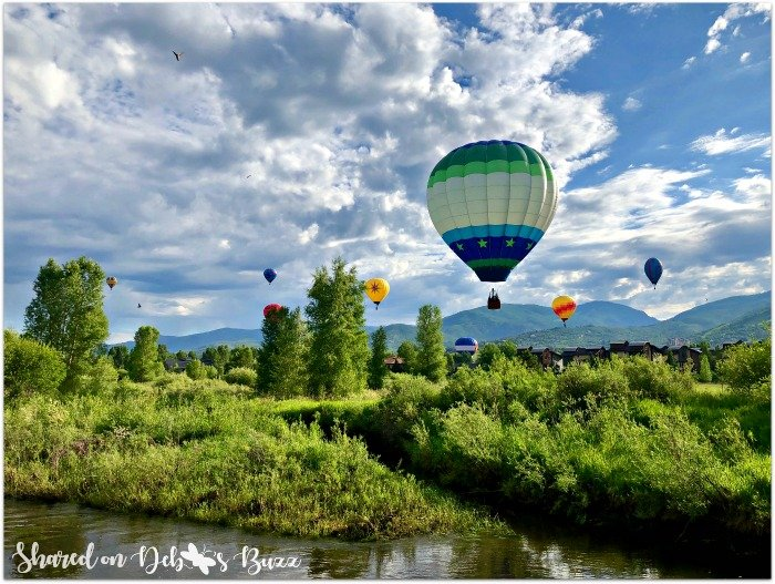 Steamboat Springs Sky High Hot Air Balloon Festival