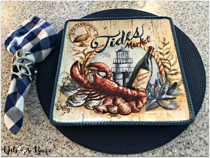 coastal-decor-lobster-place-setting