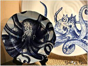 coastal-decor-kitchen-octopus-dishes