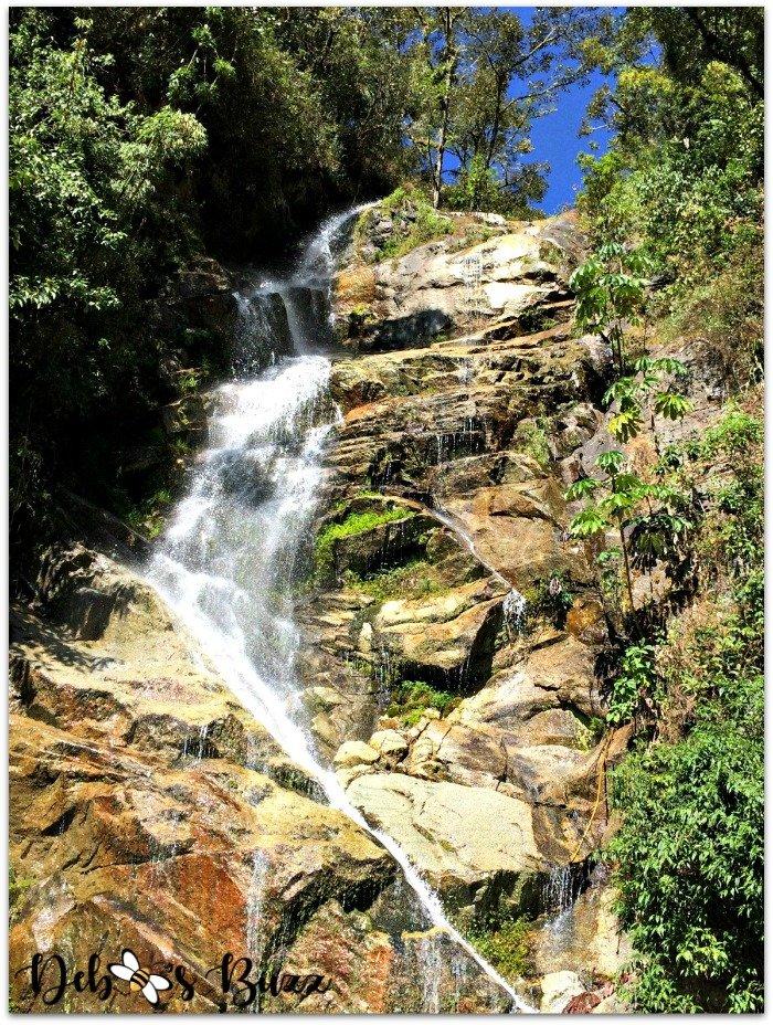 Peru-Sacred-Valley-Inca-Trail-waterfall-crossing