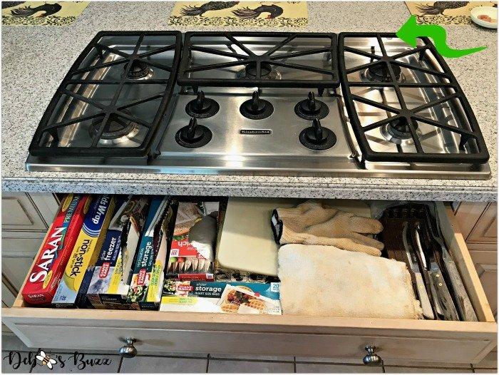 kitchen-design-layout-organization-gas-cooktop-drawer
