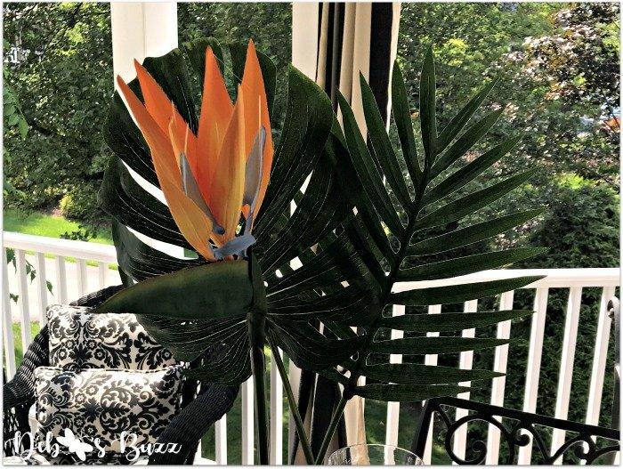 Palms, Parrots & Paradise Tropical Tablescape