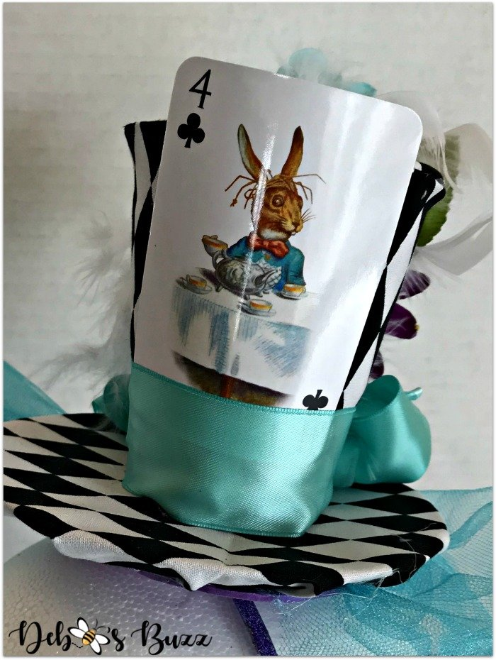 Mad-Hatter-fascinator-playing-card-embellishment