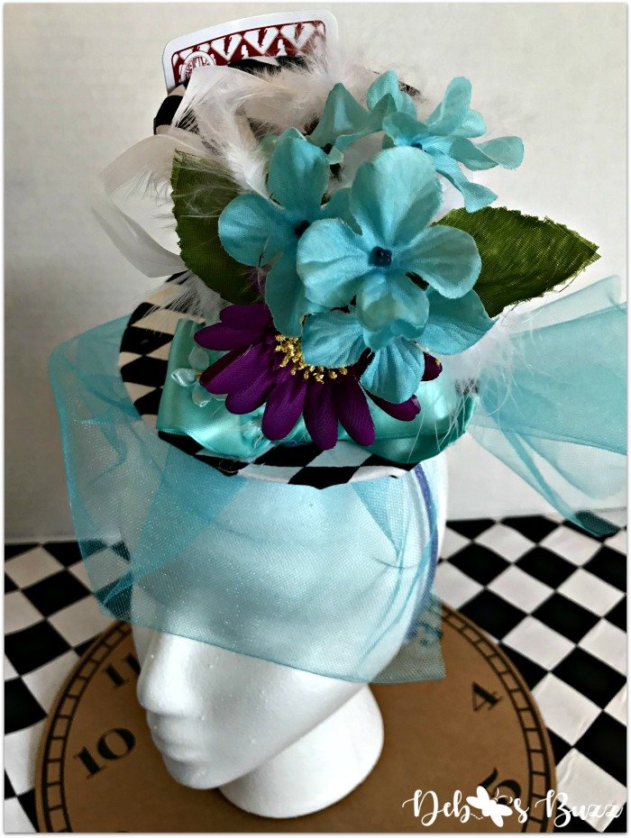 diy-mad-hatter-fascinator-turquoise-netting