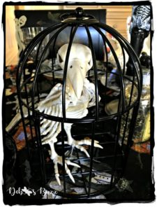 halloween-crow-skeleton-cage