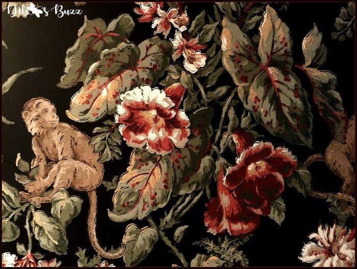 monkey-print-wallpaper-black-background