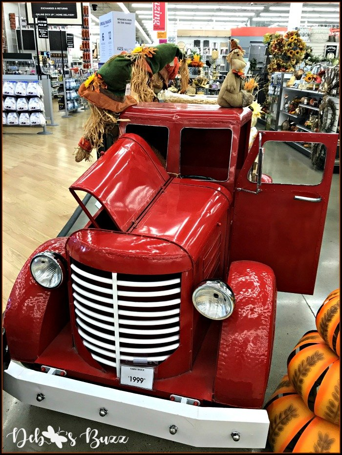 red-flatbed-truck-display-bed-bath-beyond-grill