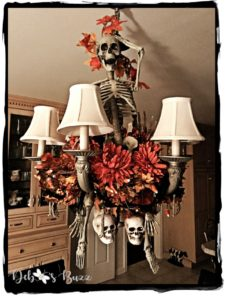 spooky-skeleton-halloween-decorated-chandelier
